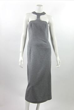 Thierry Mugler | From a collection of rare vintage day dresses at http://www.1stdibs.com/fashion/clothing/day-dresses/
