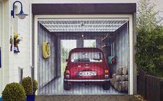 Garage doorway