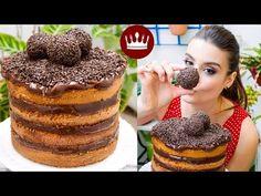 NAKED CAKE DE CENOURA COM BRIGADEIRO - Blog do Bom Gosto