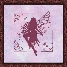 fairy cross stitch pattern HeartStitch Designs: Freebies