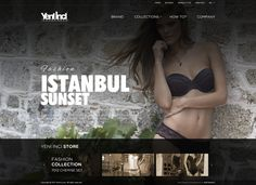 """""""As Yeni İnci, we have succeeded to become an underwear brand which presents its different and high quality products to its tasteful, conscions and quality hunter custom ers since We are a brand known with our customer service and we have achieved t… Underwear Brands, Brand Collection, Web Design Inspiration, Behance, Fashion, Moda, Fashion Styles, Fashion Illustrations"""