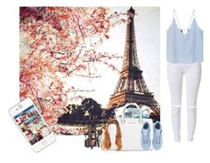 """Visit Paris with my friend"" by dreamofjess ❤ liked on Polyvore featuring Fay et Fille, Spitfire, Michael Kors, Essie, MANGO, Laura Mercier and adidas"