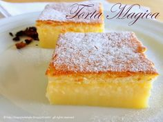 La torta magica è un dolce che sorprenderà la vista e il palato! Il risultato sarà una torta a tre strati di consistenza diversa e dal gusto unico!