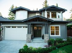 Stylish Craftsman with Five Bedrooms - 23581JD   2nd Floor Master Suite, Bonus Room, Butler Walk-in Pantry, CAD Available, Craftsman, Den-Office-Library-Study, Luxury, Northwest, PDF, Photo Gallery, Premium Collection   Architectural Designs