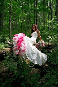 bridal shoot / trash the dress