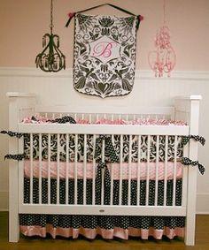 Baroque Crib Bedding