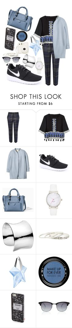 """""""Forward Thinker"""" by zowealice ❤ liked on Polyvore featuring Vivienne Westwood Red Label, SUNO New York, Rebecca Taylor, NIKE, Zara, Kate Spade, Georg Jensen, DailyLook, Thierry Mugler and MAKE UP FOR EVER"""