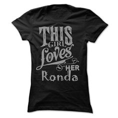 This girl loves her Ronda - #unique hoodie #pullover hoodie. WANT  => https://www.sunfrog.com/Names/This-girl-loves-her-Ronda-37780070-Ladies.html?id=60505
