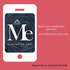 Meditation Easy is a Web & Mobile App offering an intensive meditation program to learn 30 unique techniques and meditate upon 10 essential themes of life. Mobile App, Meditation Apps, Learn To Meditate, Motivation, Journey, Learning, Link, Meditation For Beginners, Life