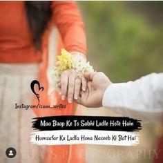 #Nilofark07 Cute Attitude Quotes, True Love Quotes, Romantic Love Quotes, Crazy Girl Quotes, Crazy Girls, Love Quetos, Best Couple Quotes, Girlish Diary, Muslim Love Quotes