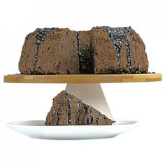 I believe a Chocolate Angel Food Cake has an interesting look; kind of natural, less perfect if you like.