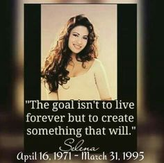 22 years ago today the music world lost a beautiful talented Grammy Award Winning singer called Selena. We Miss You and may you rest in peace.💖💖💖
