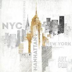 Empire State Building Art Print by Avery Tillmon at Art.co.uk