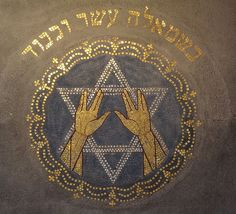 Is the Vulcan Salute a Jewish Symbol? Yes, It's a gesture used in the Priestly Blessing during Jewish services. Priests give the hand gesture — similar to the Vulcan salute but with two hands — to bless the congregation Jewish History, Jewish Art, Jewish Quotes, Jewish Synagogue, Jewish Temple, Arte Judaica, Messianic Judaism, Spock, Sacred Geometry