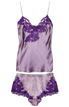 Beautiful Purple Sleep Wear, via La Perla <3