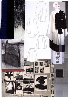 Fashion Sketchbook - fashion design development with research & fashion…