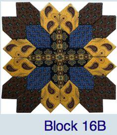 Pieceful Gathering Quilt Shop Block 16B