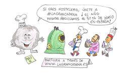 @Humorambientalpor May para @ecovidrio y @efeverde #Ecohumor (@humorambiental) es un proyecto de divulgación ambiental de @Ecovidrio y @EFEverde de la Agencia EFE Esta ilustración de May puede ser reproducida libremente citando las fuentes. Anteriores viñetas #Sabíasque… la gran cadena…arranco en el Celler de Can Roca pero esun movimiento que va más allá de los fogones.#Lagrancadena ...