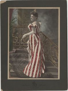This mounted photograph is larger than a cabinet card. It is a photograph of the actress, Leonora Bradley and is from the Ashman  Studio in Baltimore, Maryland.