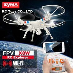 89.90$  Buy now - http://aliwtq.worldwells.pw/go.php?t=32752380491 - Original SYMA X8W 2.4G 4CH Big Drone Fpv 2MP HD Camera Wifi Quadcopter VS X8C RC Helicopter Drones With Camera Hd Professional 89.90$
