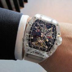 richard-mille Elegant Watches, Beautiful Watches, Cool Watches, Watches For Men, Richard Mille, Expensive Watches, Hand Watch, Men's Grooming, Watch Brands