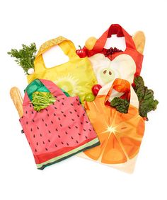 Another great find on #zulily! Frutti Reusable Bag Set by LOQI #zulilyfinds