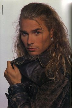 Mike Tramp - White Lion  :P~How I picture Devon. I could see him in a cavalier hat, wrecking havoc all over England.