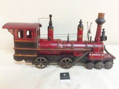 Reproduction red model train $35