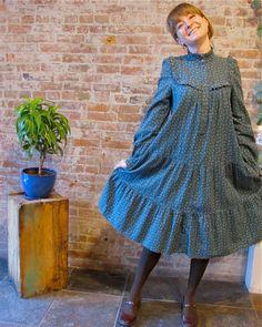 Vintage 1970's Laura Ashley Dress by stateandmainvintage on Etsy,
