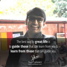 Keep learning, Keep growing & keep sharing! www.sujitlalwani.com