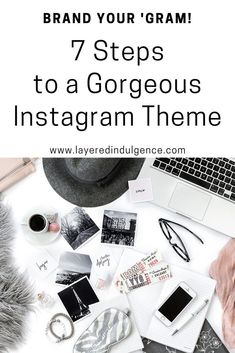 Do you want to grow your instagram following and engagement? Take a look at this in-depth tutorial on how to theme your instagram, and you'll be on your way! Click through to read the amazing instagram ideas and tips, or save this pin to read later!
