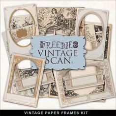 Freebies Vintage Papers Marcos
