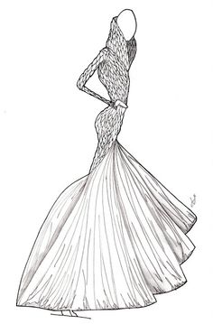 The Fashion Illustrator: Alexander McQueen: Fall '10