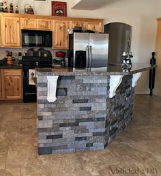 Kitchen Island Makeover Ideas dramatic kitchen island makeover - for my husband and i, our