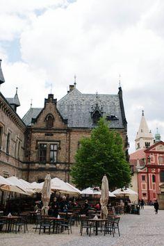 Cafe in Prague Castle