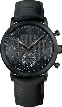 @88rdr Watch Double 8 Origin 45mm Mens #add-content #bezel-fixed #bracelet-strap-leather #brand-88-rue-du-rhone #case-material-black-pvd #case-width-45mm #chronograph-yes #date-yes #delivery-timescale-1-2-weeks #dial-colour-black #gender-mens #luxury #movement-quartz-battery #official-stockist-for-88-rue-du-rhone-watches #packaging-88-rue-du-rhone-watch-packaging #style-dress #subcat-double-8-origin-mens #supplier-model-no-87wa144502 #warranty-88-rue-du-rhone-official-2-year-guarant...