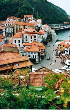 CUDILLERO, Asturias Acadia National Park Camping, Grand Canyon Camping, Places Around The World, Travel Around The World, Around The Worlds, Aragon, Camping San Sebastian, Places To Travel, Places To Visit