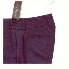 Banana Republic Trousers MARTIN FIT Navy Lightweight Wool Trouser by BANANA REPUBLIC dress pants size 4P Banana Republic Pants Trousers