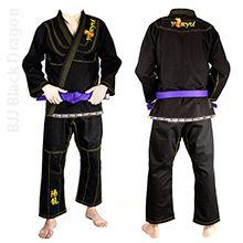 Kimono YORYU BJJ Black Dragon Brazilian Jiu Jitsu