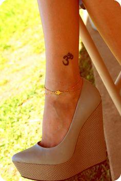 Gold Hamsa Charm Anklet. $45.00, via Etsy.