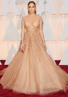 Get The Look: Jennifer Lopez' Sparkling Oscars 2015 Gown