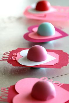 DIY EOS Valentines, perfect for tweens, teens and teachers with your Silhouette machine!