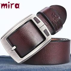 100% cowhide genuine leather belts for men BAIEKU brand Strap male pin buckle vintage jeans cowboy Cinto Masculino Casual belt (scheduled via http://www.tailwindapp.com?utm_source=pinterest&utm_medium=twpin&utm_content=post102769723&utm_campaign=scheduler_attribution)