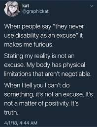 Knowing your limits is necessary with any chronic illness/ chronic p. Knowing your limits is necessary with any chronic illness/ chronic pain condition. Its not an excuse, its acceptance. Chronic Migraines, Chronic Illness, Chronic Pain, Endometriosis, Trauma, Ehlers Danlos Syndrome, Crps, Diabetes, Chronic Fatigue Syndrome