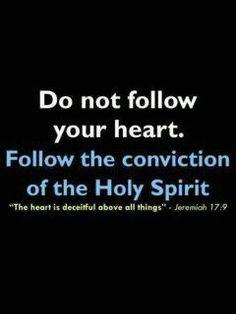 Follow the Holy Spirit