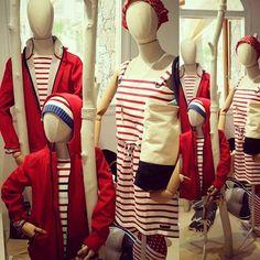 Marine Stripes Red BATELA, Carla LLimona Shop Summer Decoration, Stripes, Shopping, Fashion, Clothing, Moda, La Mode, Fasion, Fashion Models