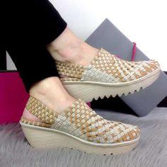 Sepatu Eliza Rihanna Wedges CH7774 Trendy Import (1)