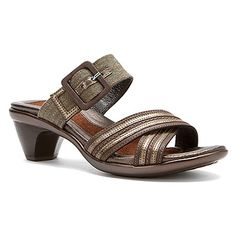 Naot   Marvel- Dark Sienna (also available in black):    Elegance comes naturally to you in the Naot Marvel sandal.