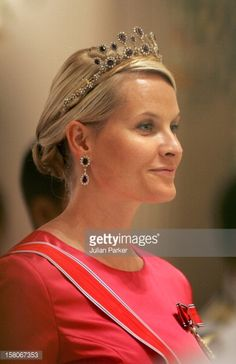 Crown Prince Haakon Crown Princess MetteMarit Of Norway Attends A Banquet For Foreign Monarchs Royal Guests At The Chakri Maha Prasat Throne Hall...