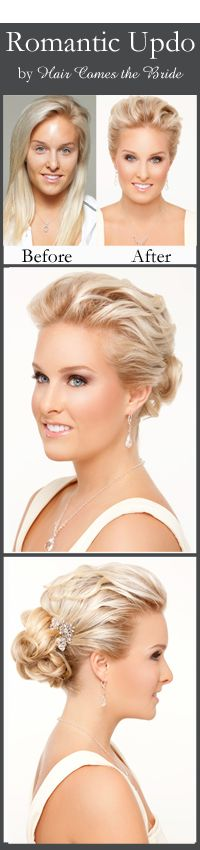 Wedding Day Makeup Before And After : 1000+ images about Bridal Hair and Makeup Before and After ...